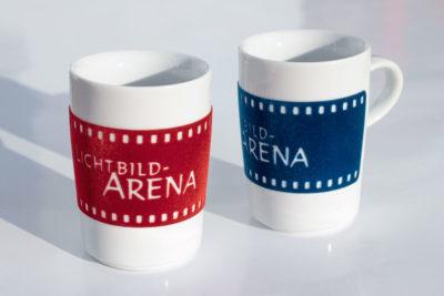 Filmstreifen-Porzellanbecher